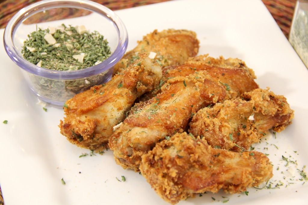 Crispy Ranch Chicken Wings